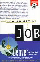 How to Get a Job in Denver and Central Colorado