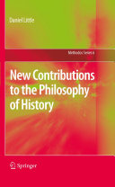 New Contributions to the Philosophy of History [Pdf/ePub] eBook