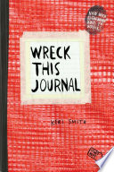 Wreck This Journal  Red