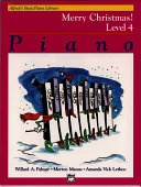 Alfred's Basic Piano Library, Merry Christmas! Level 4