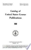 Catalog of United States Census Publications