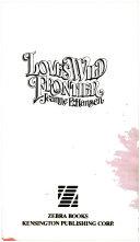 Pdf Love's Wild Frontier