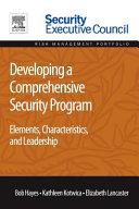 Developing a Comprehensive Security Program