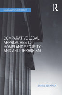 Pdf Comparative Legal Approaches to Homeland Security and Anti-Terrorism Telecharger