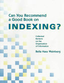 Can You Recommend a Good Book on Indexing