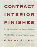 Contract interior finishes