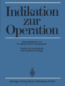Indikation zur Operation