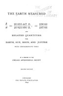 The Earth Measured  b Over A