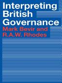 Interpreting British Governance