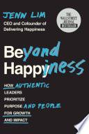 Beyond Happiness Book PDF