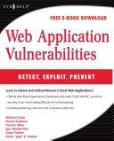 Web Application Vulnerabilities Pdf/ePub eBook