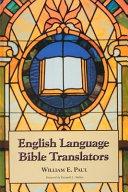English Language Bible Translators Book PDF