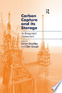 Carbon Capture And Its Storage Book PDF