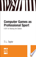 Computer Games As Professional Sport
