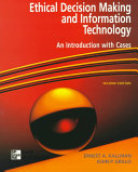 Cover of Ethical Decision Making and Information Technology