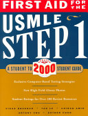 First Aid for the USMLE Step 1 Book