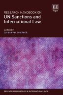 Research Handbook on UN Sanctions and International Law:  - Seite ii