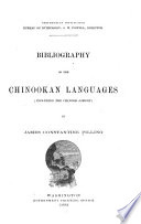 Bibliography Of The Chinookan Languages Including The Chinook Jargon