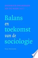 Balans En Toekomst Van De Sociologie