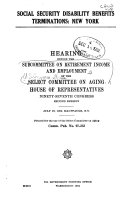 Social Security Disability Benefits Terminations