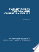Evolutionary Theory and Christian Belief