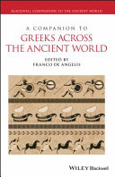 Pdf A Companion to Greeks Across the Ancient World Telecharger