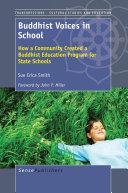 Pdf Buddhist Voices in School