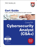 CompTIA Cybersecurity Analyst  CySA   Cert Guide