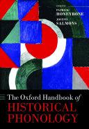 The Oxford Handbook of Historical Phonology Pdf/ePub eBook