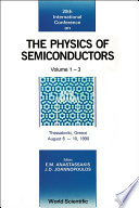 Physics Of Semiconductors   Proceedings Of The 20th International Conference  In 3 Volumes
