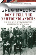 Don't Tell the Newfoundlanders Book