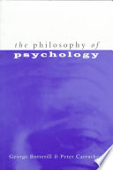 The Philosophy of Psychology Book