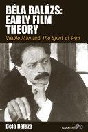 Béla Balázs: Early Film Theory Pdf/ePub eBook