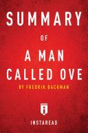 Summary of A Man Called Ove Pdf/ePub eBook