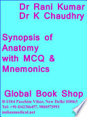 Synopsis of Anatomy with MCQ and Mnemonics