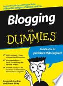 Blogging für Dummies