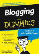 Blogging für Dummies