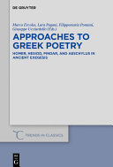 Approaches to Greek Poetry [Pdf/ePub] eBook
