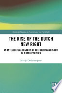 The Rise of the Dutch New Right