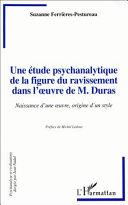 Pdf Une étude psychanalytique de la figure du ravissement dans l'oeuvre de M.Duras Telecharger