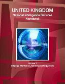 UK National Intelligence Service Handbook Volume 1 Strategic Information, Avtivities and Regulations