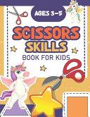Scissor Skills Book For Kids Ages 3 5