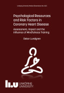 Psychological Resources and Risk Factors in Coronary Heart Disease