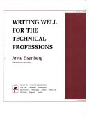 Writing Well for the Technical Professions