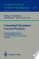 Conceptual Structures Current Practices