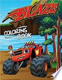 Blaze Coloring Book