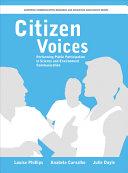 Citizen Voices Pdf/ePub eBook