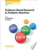 Evidence Based Research in Pediatric Nutrition