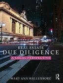 Real Estate Due Diligence Pdf/ePub eBook