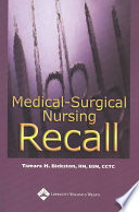 Medical Surgical Nursing Recall Book